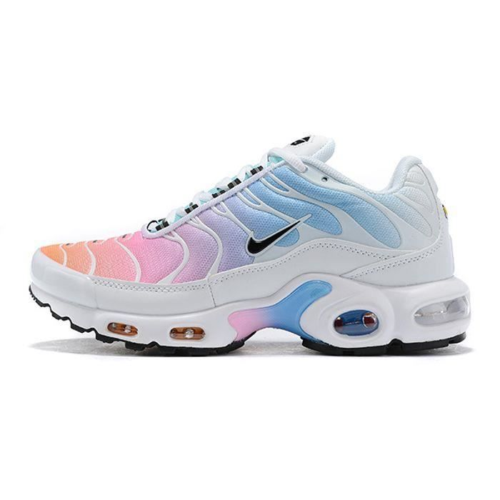 NIKE Baskets Air Max Plus TN Chaussures - Femme - Blanc ...