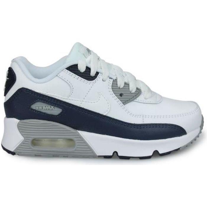 Nike Air Max 90 LTR Enfant Blanc (28) Blanc - Cdiscount Chaussures