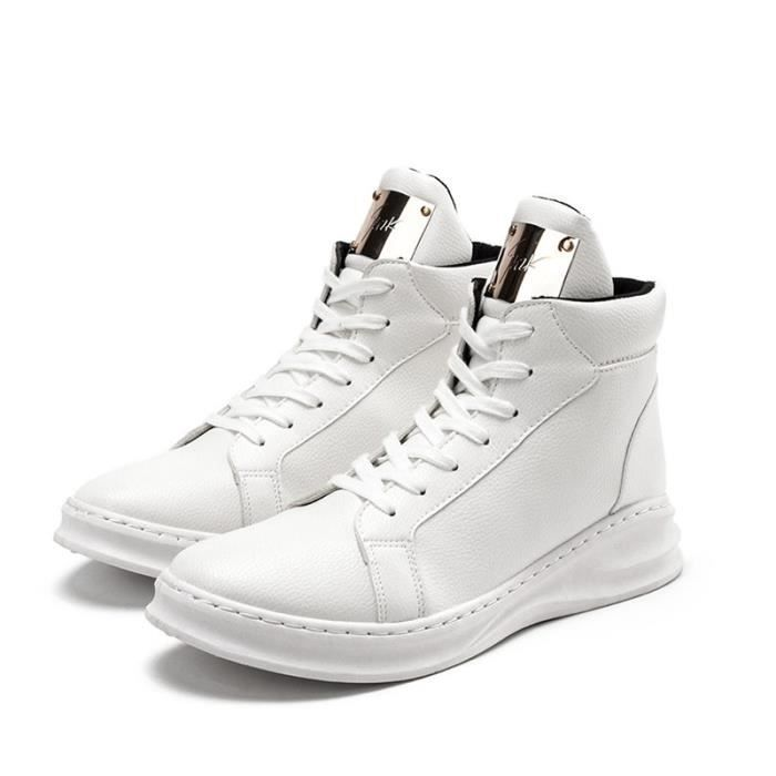 Chaussures Homme High-hop Baskets Blanc BXYeV
