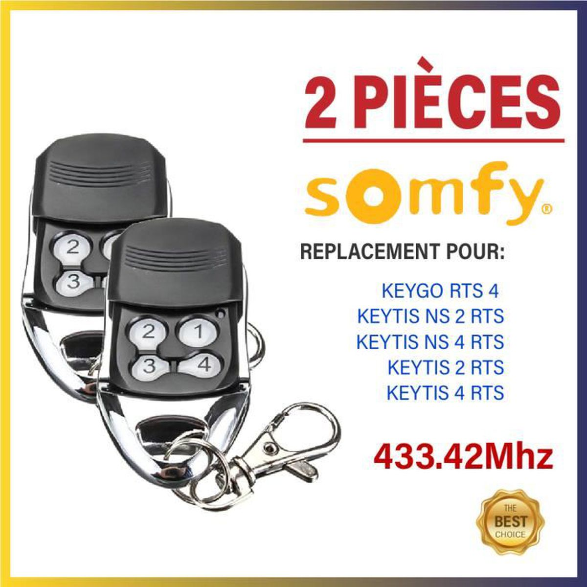 SOMFY/ /KEYGO RTS /émetteur sans fil 4/canaux 1841064