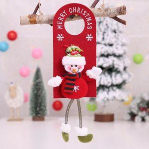 BOULE DE NOËL 1pc Boule de Noël Décoration arbre porte Accrocher