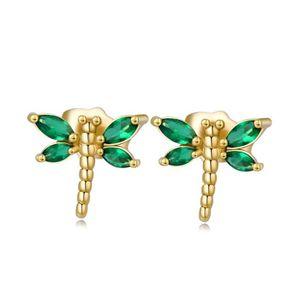"1.6/"" Fleur Ovale Emeraude Jade Topaz Lady Gems Boucles d/'oreilles 18K or jaune rempli"