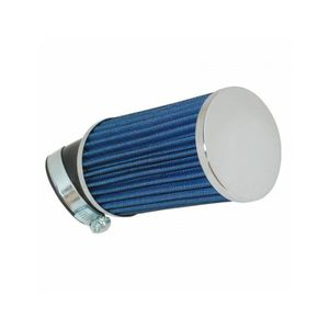 FILTRE A AIR Filtre a air replay kn long bleu fixation coudee 4