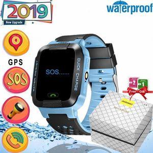 MONTRE CONNECTÉE Jooksmart Enfants Smartwatch GPS Montre Connectée