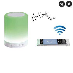 ENCEINTE NOMADE Haut parleur lampe led avec micro intégré