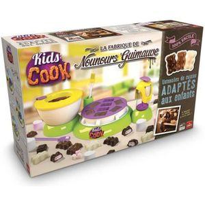 CUISINE CRÉATIVE - JEU CULINAIRE GOLIATH - Kids Cook Fabrique de nounours guimauve