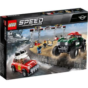 ASSEMBLAGE CONSTRUCTION LEGO® Speed Champions 75894 - Mini Cooper S Rally