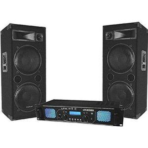 PACK SONO Pack Sono DJ ampli 2x1000w + enceintes 2x600w MA-4