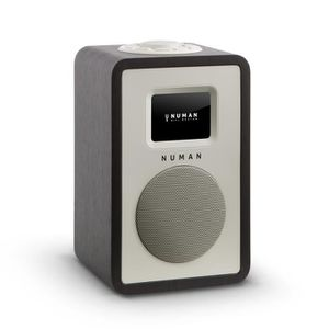 RADIO CD CASSETTE NUMAN Mini One radio numérique design - Ecran TFT