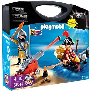 UNIVERS MINIATURE PLAYMOBIL 5894 Valisette Pirate et Soldat