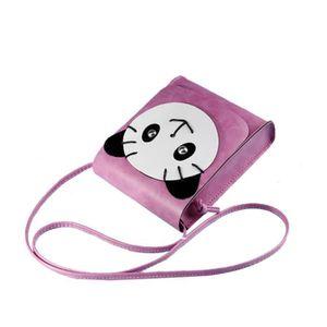 SAC À MAIN Sac a Bandouliere Main Panda Cuir Artificiel Retro