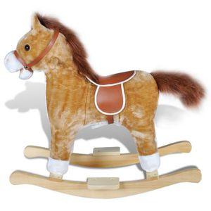 JOUET À BASCULE Jouet à bascule avec musique forme cheval corps en