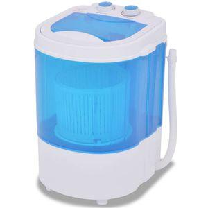 MINI LAVE-LINGE vidaXL Machine à laver indépendant largeur : 33 cm