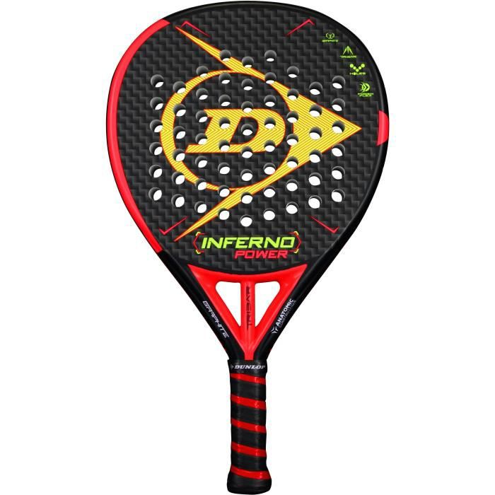 DUNLOP - RAQUETTE DE PADEL - INFERNO POWER