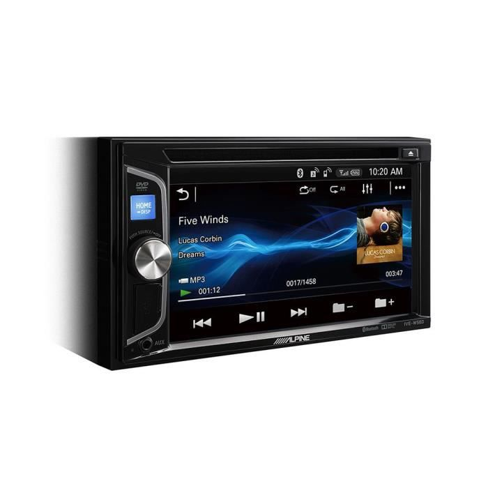 IVE-W560BT - Station Multimedia Embarquee - CD/DVD/USB/Bluetooth - Android/Apple - Ecran tactile 6.2p