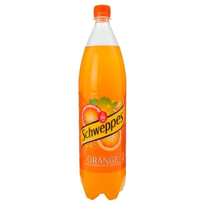 Schweppes Orange 1,5L (pack de 6)