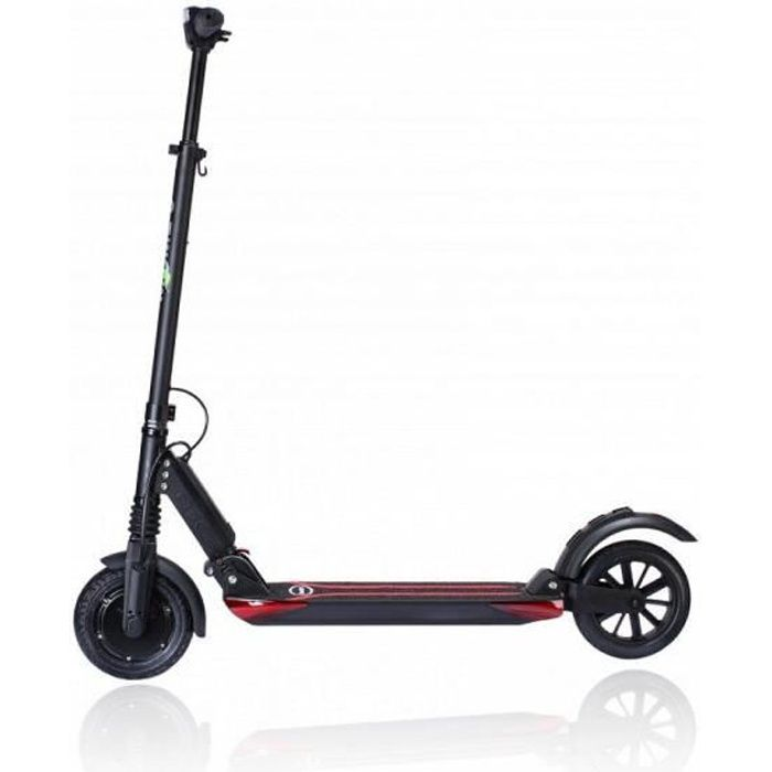 Trottinette électrique E-TWOW Booster S Plus Confort Noire Vitesse Bridée 25km/h - Référence : BOOSTS+.1