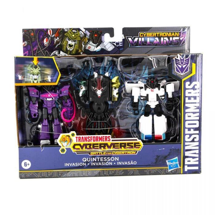 Coffret de Figurines Transformers Villains 6 ans et + Enfant HASBRO