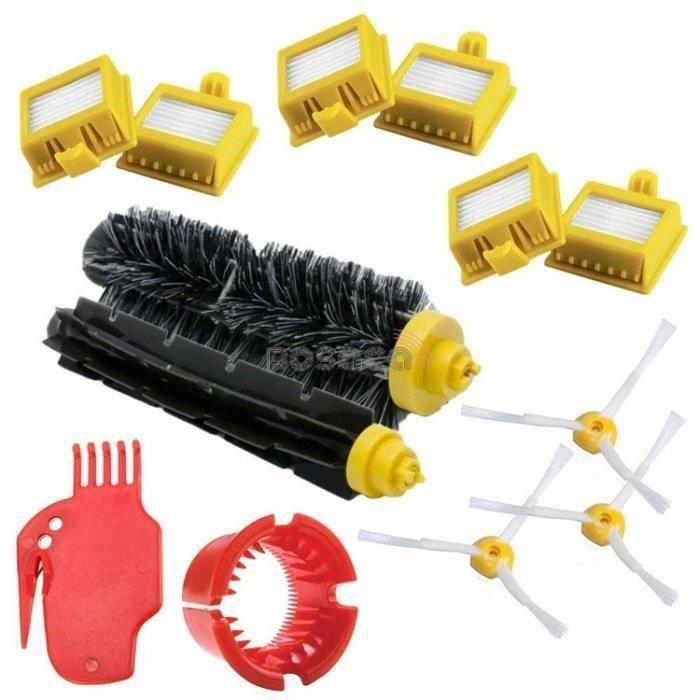 Remplaçant Filtres kit Pièces accessoires pour iRobot Roomba série pour 700 720 750 760 765 770 772 772e 774 775 776 776p 780 782 78