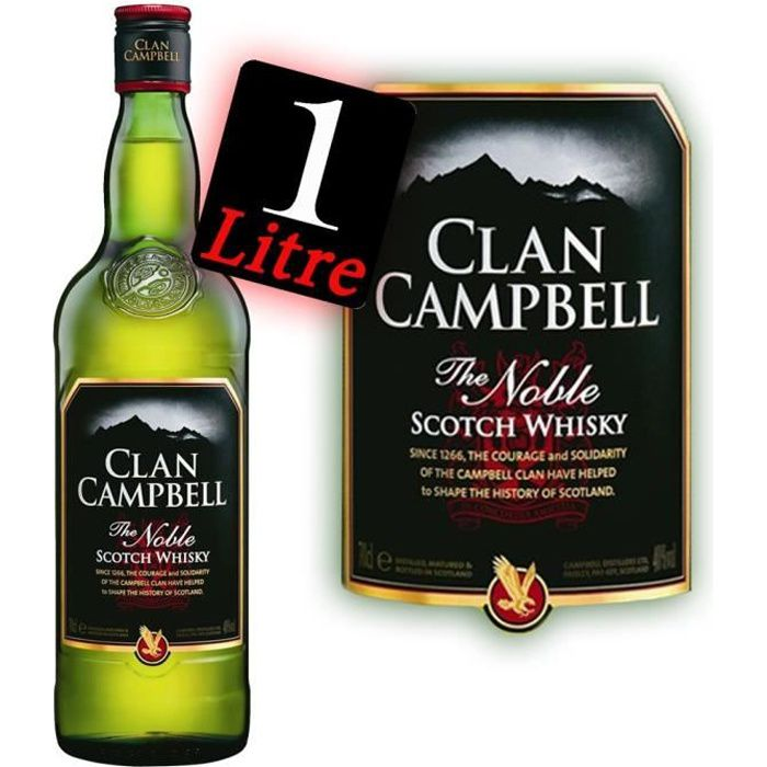 Scotch Whisky 1l Clan Campbell