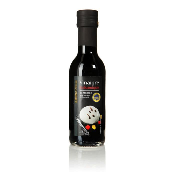 CASINO DELICES Vinaigre balsamique de Modeme - 25cl