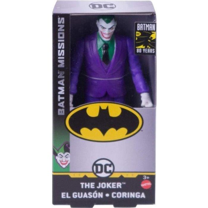 Coffret Figurine Le Joker 15cm - Serie Mission 80 ans - DC - Super Heros - Jouet Garcon
