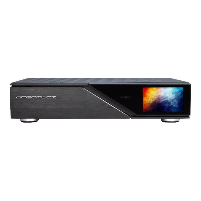 Dream Multimedia DreamBox DM920 UHD Récepteur multimédia numérique noir