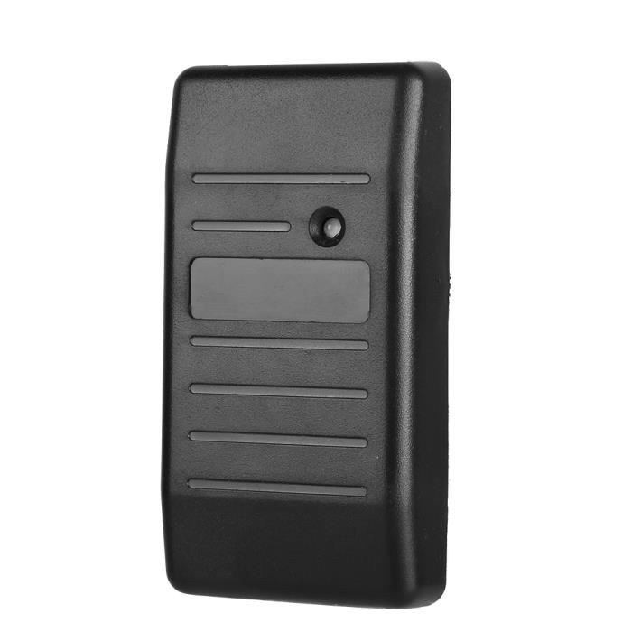 Security RFID Card Access Control Reader 125KHz Wiegand 26-34 Waterproof(Black IC 13.56Mhz )-FAS