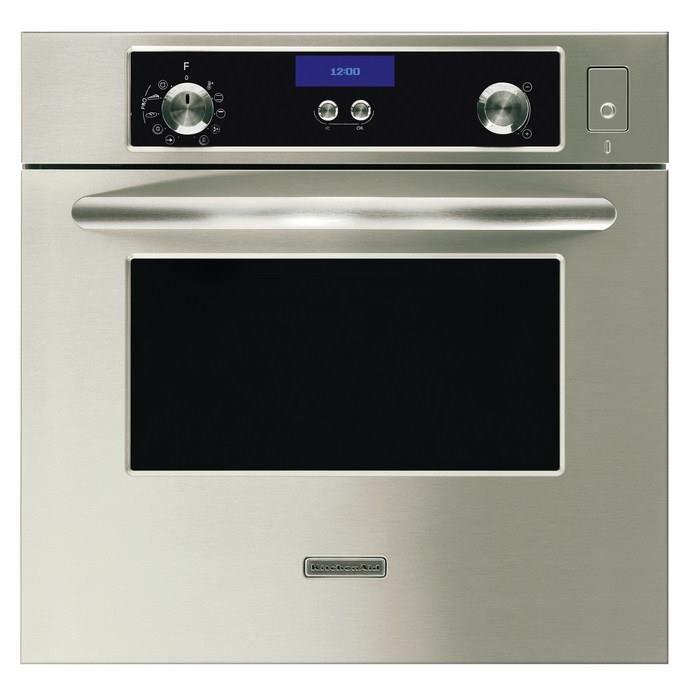 KitchenAid KOSP 6610-IX, Acier inoxydable, boutons, Rotatif, Devant, Bas, Numérique