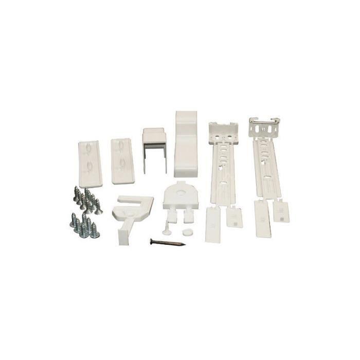Bosch, Gaggenau, Neff, Siemens, Viva Kit de fixation porte a glissiere pour refrigerateur Bosch 00264862