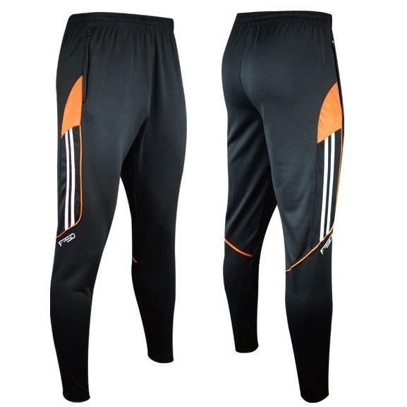 Football Pantalons Hommes Casual Hiver Cargo Sport Slim Vêtements De Sport Pour Hommes Pantalons Marque Polyester Noir Jogger
