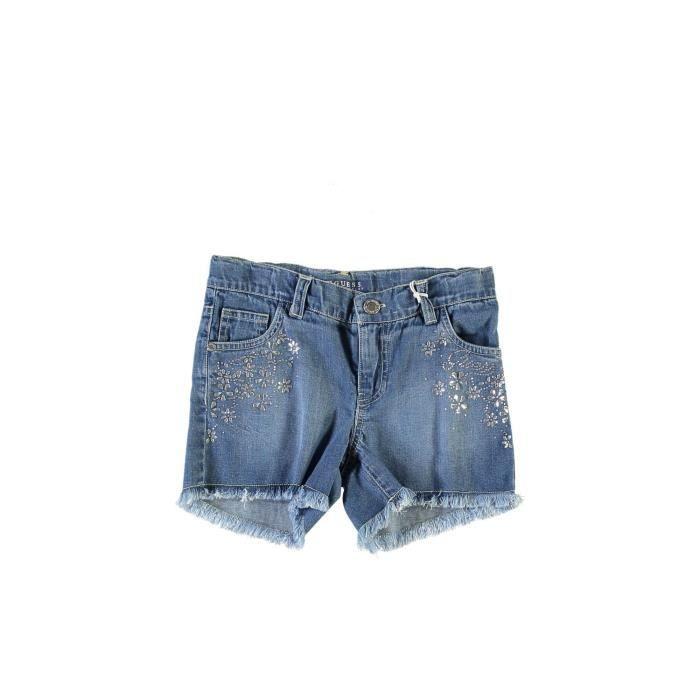 Guess short Fille Denim Shorts bleu