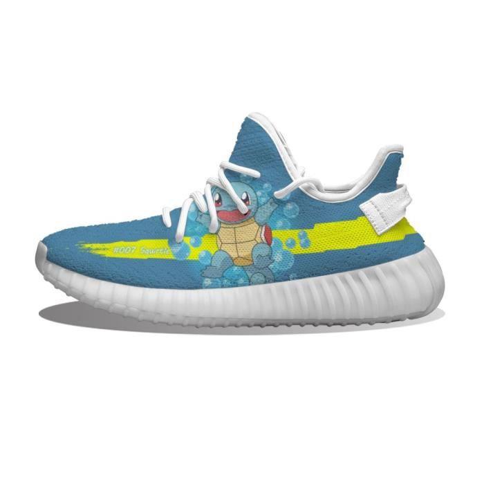 Baskets pokemon squirtle Chaussures de course pour Homme Femme
