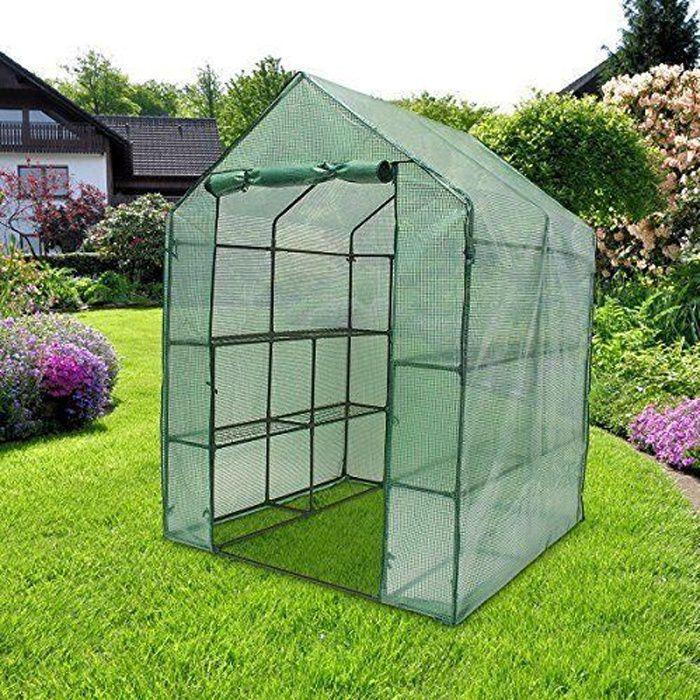 Relaxdays 10018889 Serre de Jardin Tente pour Plante Bâche Housse de Protection Grande Taille