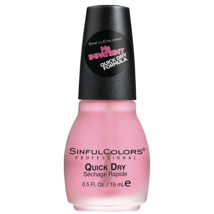 SINFUL Vernis à ongles n° 1706 Ms impatient Quick Dry - 15 ml