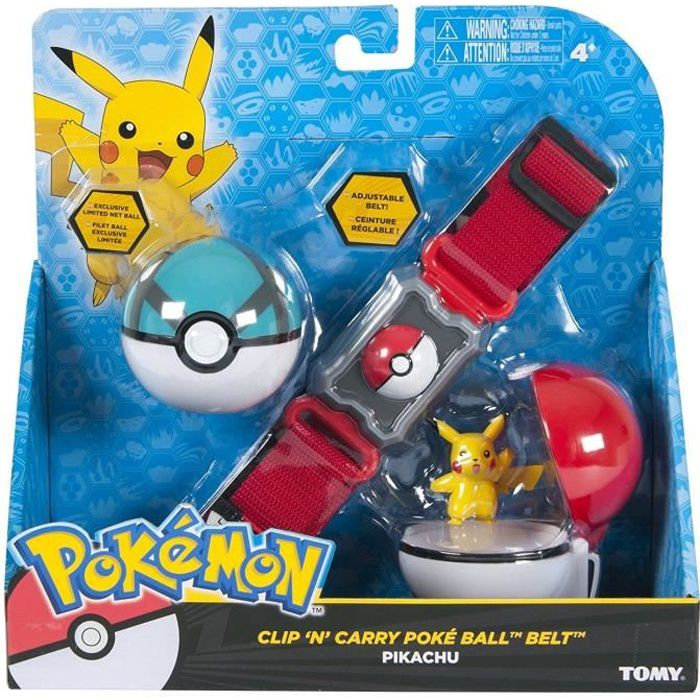 Pokemon Clip 'n' Carry Belt Poke Boule