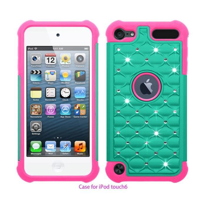 coque housse etui apple ipod touch 5 touch 6 bleu clair. Black Bedroom Furniture Sets. Home Design Ideas