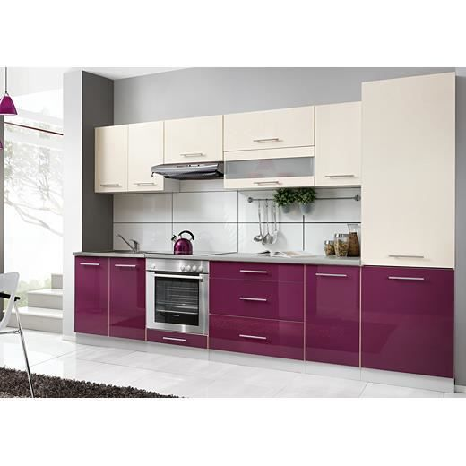 cuisine quipe violet cheap excellent cuisine gris laque ikea u tourcoing u maison incroyable. Black Bedroom Furniture Sets. Home Design Ideas