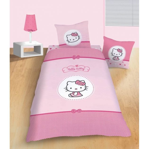 couvre lit hello kitty simple hello kitty parure de lit bb housse de couette taie with couvre. Black Bedroom Furniture Sets. Home Design Ideas
