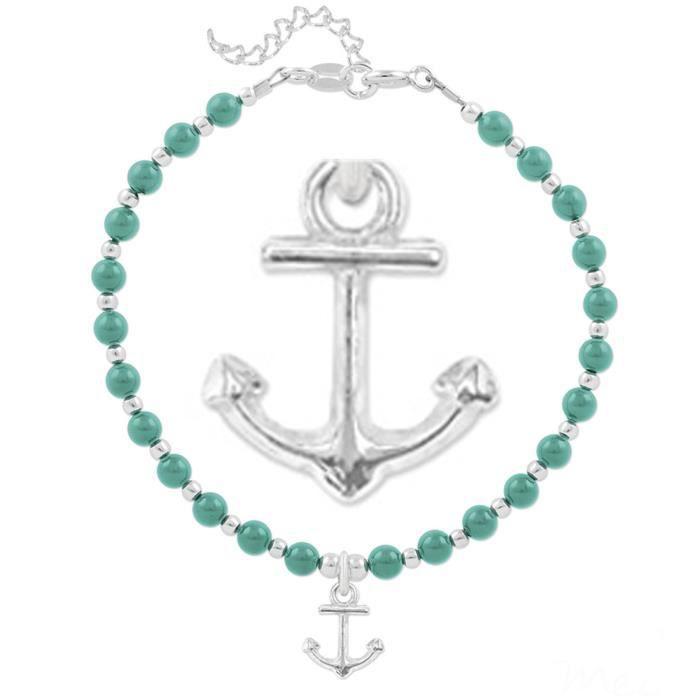 bracelet argent artisanal