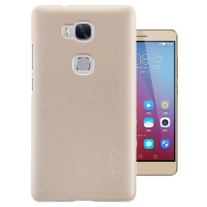 Leathlux coque tui pour huawei honor 5x 5 5 luxe haute for Housse honor 5x