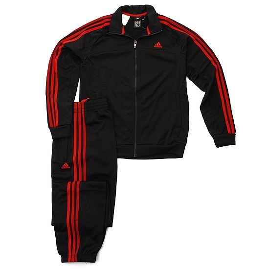 survetement adidas noir et rouge. Black Bedroom Furniture Sets. Home Design Ideas