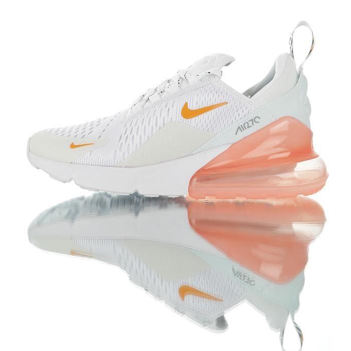 chaussure nike air max 270 femme blanche