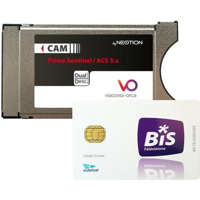 Pack Carte Prepayee Bis Tv Panorama Module Pcmcia Viaccess Neotion Acs 3 X Modulateur Modem Avis Et Prix Pas Cher Cdiscount