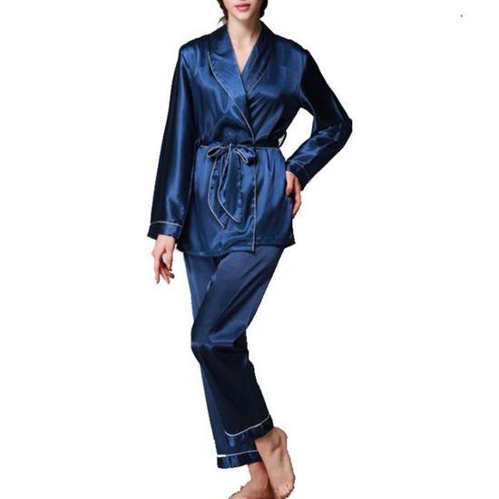 Femmes Chemise de nuit Nouvelle robe de Chemise à Manches Longues Nuisette Nightwear UK 8-22