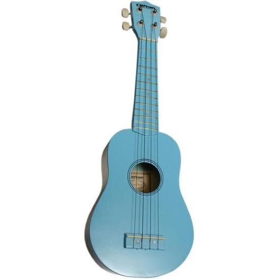 Kalaok 23 pouces Concert Ukul/él/é en bois d/érable Manche /& Touche palissandre Touche Set Pi/èces pour guitare hawa/ïenne