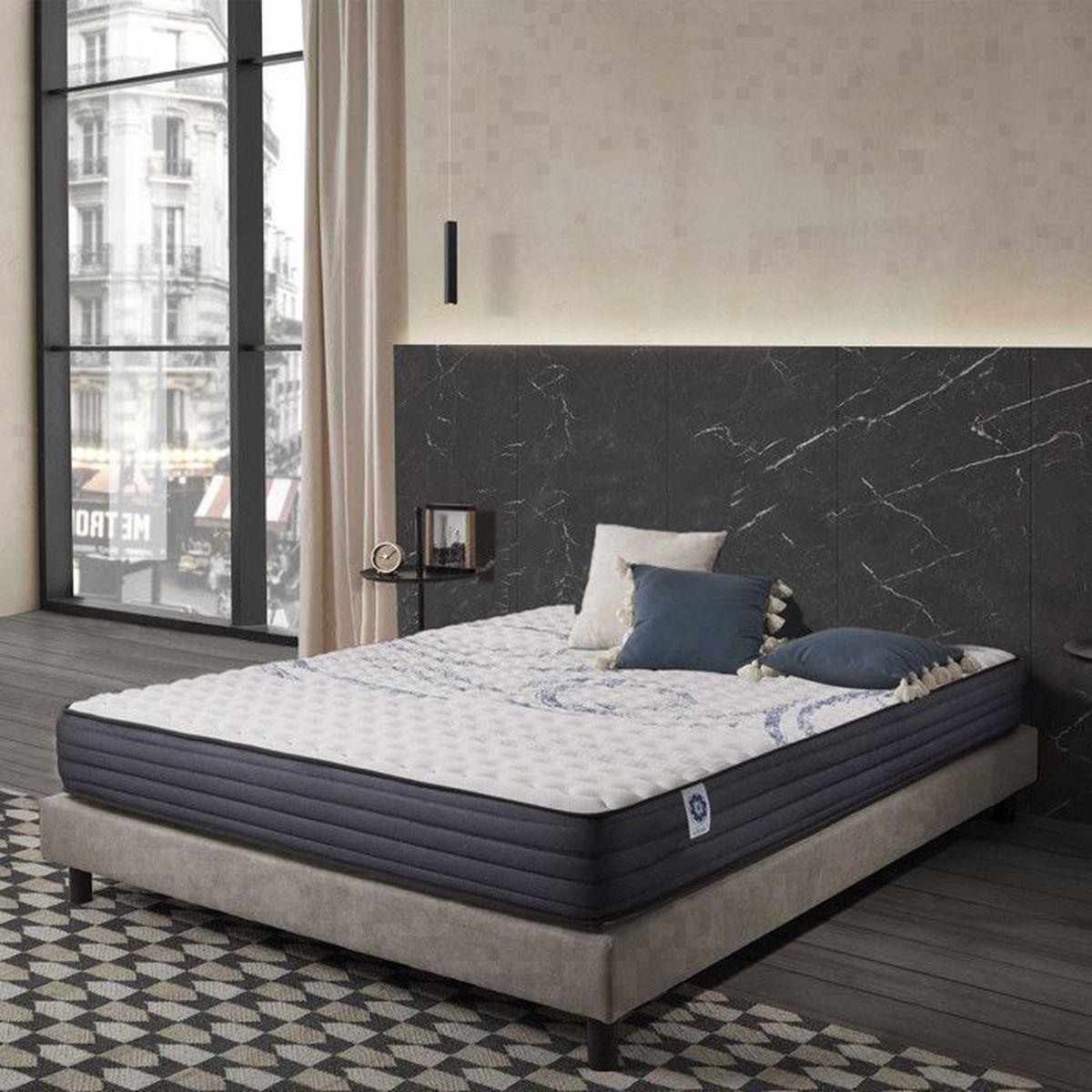 MATELAS Matelas PERFECT SLEEP 160x200 cm Mousse à Mémoire