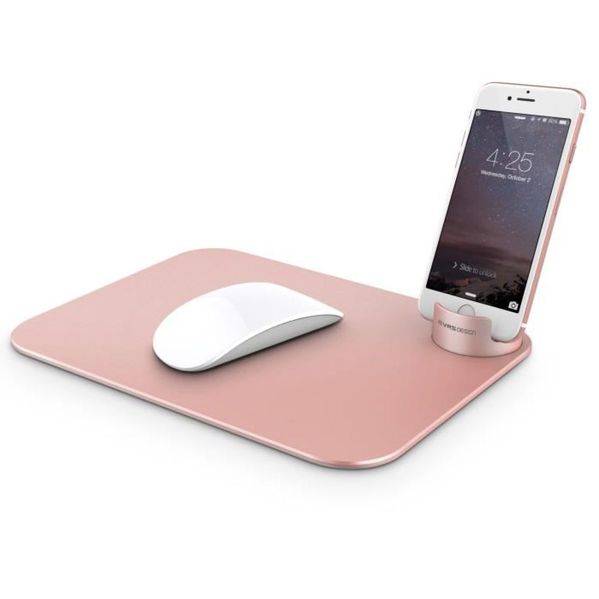 Tapis De Souris M 233 Tallique Avec Support Mobile Vrs Design