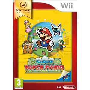 JEUX WII Super Paper Mario Selects Jeu Wii