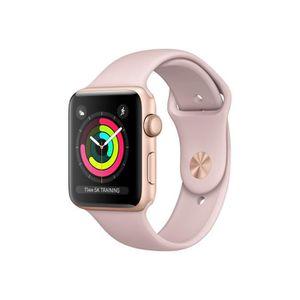 MONTRE CONNECTÉE Apple Watch Series 3 (GPS) 42 mm or-aluminium mont